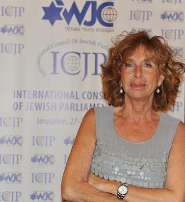 Fiamma Nirenstein eletta presidente del Consiglio Internazionale dei Parlamentari Ebrei
